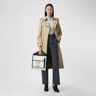 Burberry Pocket Detail Technical Wool Tailored Trousers