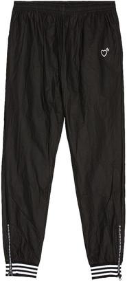 adidas x Human Made Tyvek Track Pants in Black | FWRD