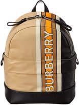 Burberry Mini Nico Stripe Leather Backpack