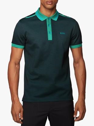 HUGO BOSS BOSS Paddy 2 Regular Fit Polo Shirt, Green