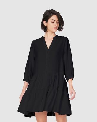 Soon Women's White Kaftan & Beach Dresses - Melanie Dress - Size One Size, L at The Iconic