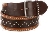 Kenzo Studded Leather Belt