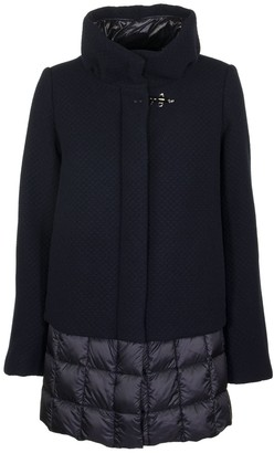 Fay Quilted Single-breasted Coat