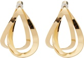 Charlotte Chesnais Endless gold-plated earrings