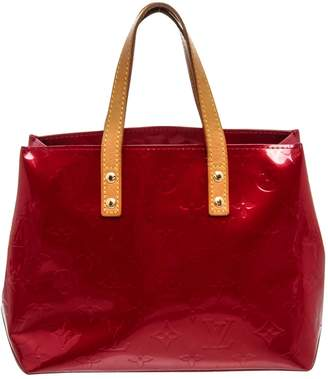 Louis Vuitton Reade Red Patent leather Handbags
