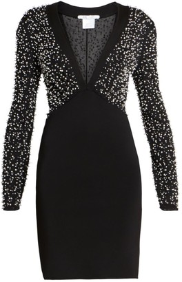 Givenchy Beaded Strass Embroidered Dress