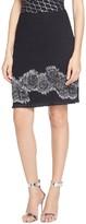 St. John Rose Fil Coupe Knit Mini Skirt