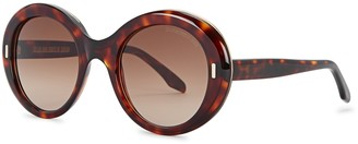 Cutler & Gross 1327 Tortoiseshell Oversized Sunglasses