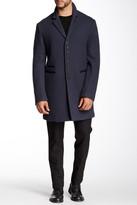 John Varvatos Collection Notch Lapel Wool Coat