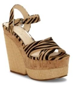Jessica Simpson Jirie Platform Sandals Women's Shoes