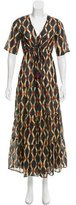 Figue Abstract Print Maxi Dress w/ Tags