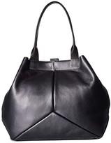 Ecco Ella Shopper (Magnet Metallic) Tote Handbags