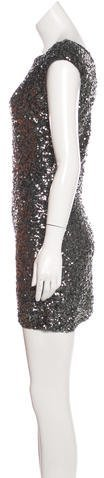 Alice + Olivia Sequin Cocktail Dress
