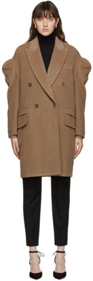Max Mara Tan Oversized Gabry Coat