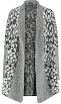 Just Cavalli Wool And Mohair-Blend Cardigan
