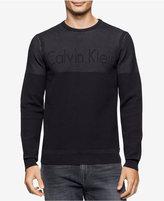 Calvin Klein Men's Plaited Logo Sweater