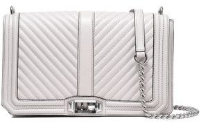 Rebecca Minkoff Quilted And Smooth-leather Shoulder Bag