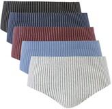 LA REDOUTE COLLECTIONS PLUS Pack of 5 Cotton Briefs