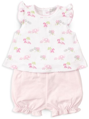 Kissy Kissy Baby Girl's Safari Siblings 2-Piece Tunic & Bloomer Set