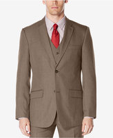 Perry Ellis Men's Classic-Fit Subtle Plaid Twill Suit Jacket