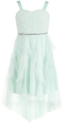 Sequin Hearts Big Girls Embellished Mesh Dress