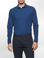 Calvin Klein Slim Fit Infinite Stretch Grid Dot Shirt