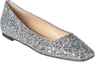 Jimmy Choo Mirele Glitter Flat