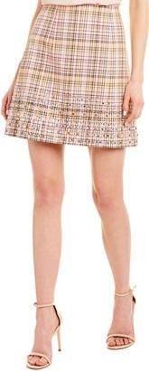 Carolina Herrera Silk-Lined Mini Skirt