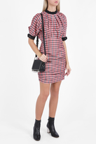 Isabel Marant Check Silk Dress
