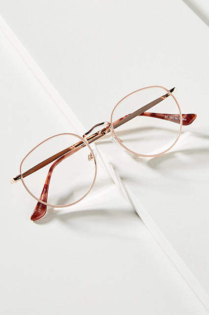 23068944977b Pink Reading Glasses - ShopStyle