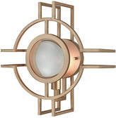 One Kings Lane McKenzie Outdoor Sconce - Matte Gold