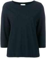 Zanone boat neck sweater