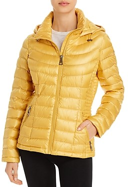 Calvin Klein Packable Short Quilted Down Coat