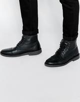 Jack & Jones Gobi High Warm Desert Boots - Black
