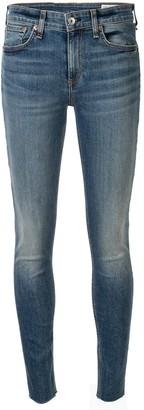 Rag & Bone Low Rise Skinny Trousers