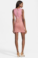 Tracy Reese Gingham Stretch Twill Dress