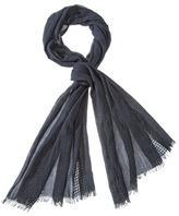 Merona Solid Fashion Scarf - Black