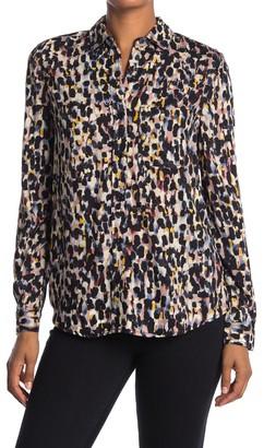 BeachLunchLounge Alana Button Front Tunic Shirt