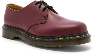Dr. Martens 1461 3-Eye Shoe in Cherry Red | FWRD