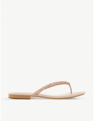 Dune Lizzey embellished sandals