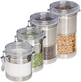 Honey-Can-Do 4-pc. Storage Canister Set