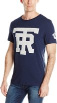 True Religion Men's University Of Tr Short Sleeve Crew Neck Tee