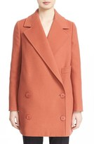 Stella McCartney Women's 'Edith' Double Breasted Wool Blend Coat