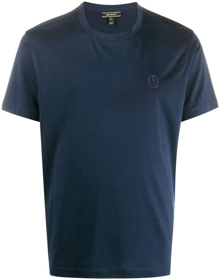 Belstaff logo embroidered T-shirt