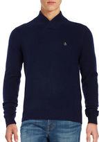 Original Penguin Wool Blend V Neck Sweater