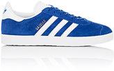 adidas Women's Gazelle Suede Low-Top Sneakers-BLUE