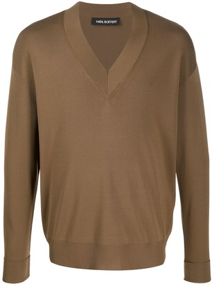 Neil Barrett V-Neck Jumper