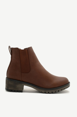 Ardene Faux Leather Chelsea Boots