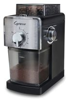 Capresso Coffee Burr Grinder in Black/Stainless Steel