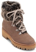 Dolce Vita Patsy Faux Fur Lace-Up Boot